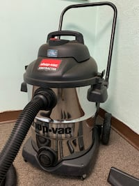 U-Line Stainless Steel Contractor 10 Gal. Shop Vac Woodbury