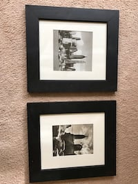 2 NYC black and white pictures. Frames are scratched New Windsor, 12553