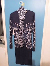 black and brown long-sleeved dress Calgary, T3E 2L6