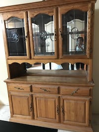 brown wooden cabinet with hutch La Habra, 90631