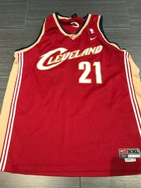 red and white Chicago Bulls 23 jersey Toronto, M6A 1C9