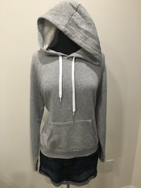 New grey hoodie size L