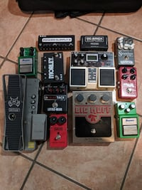 Guitar Pedals - Boss DD20 Delay, Hall of Fame Reve Los Angeles