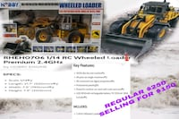Brand new never opened fully functional loader remote controll Coquitlam, V3K 1P3