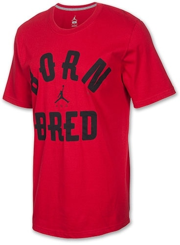 Photo NEW MENS JORDAN BORN AND BRED RETRO T SHIRT SZ L