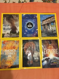 National geographic magazines all for 10 dollars Cliffside Park, 07010
