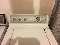 GE High Efficiency Stainless Steel Top Load Washer-$150