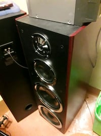 """2 ×Dual 10"""" home theater  towers"""