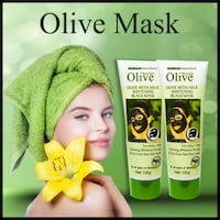 Olive Skin Care Black Mask In Pakistan Contact: [TL_HIDDEN]  Lahore
