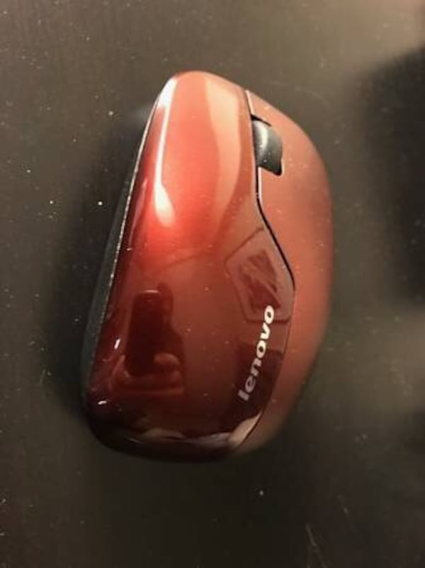 Wireless mouse for a computer. 175d9ad6-1ea3-4693-97eb-d8b758197570