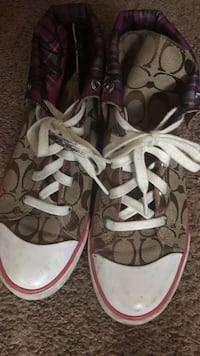 Coach sneakers size 9.5 Davenport, 52806
