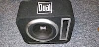 black and gray Dual subwoofer London, N5Z 5C8