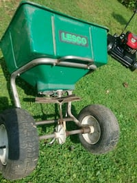 Lesco 80lb commercial lawn spreader
