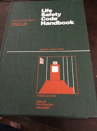 JUST REDUCED life safety code handbook (hardcover) Rockville