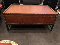New quality coffee table riveted with storage Nanaimo, V9T 2N6