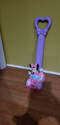Minnie mouse push toy