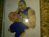 Signed Kobe bryant Drawing Woodbridge, 22191