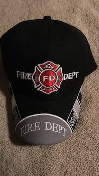 Fireman's Ball Cap with English D Embroidered  Sterling Heights, 48313