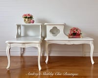 Elegant French Country End Tables Richmond Hill