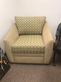 Custom lounge chair with hidden upholstered drawer Tigard, 97224