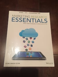 Marketing Research Essentials Textbook (BRAND NEW) Vancouver, V6L 1S2