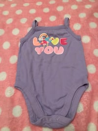 Toddler's gray and pink minnie mouse onesie Edinburg, 78541