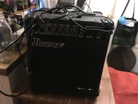 black and gray Peavey guitar amplifier PITTSBURGH
