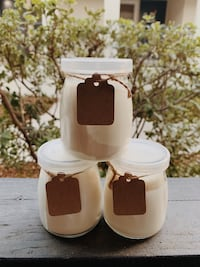 Handmade Soy Candles- Christmas Scents