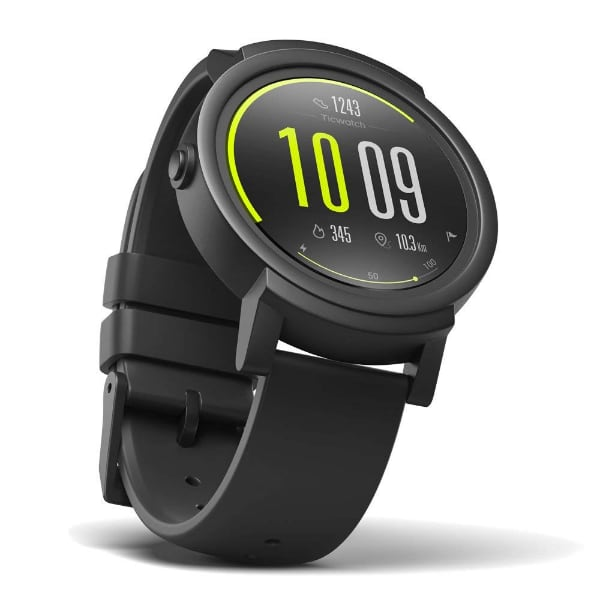 Ticwatch E Most Comfortable Smartwatch-Shadow,1.4