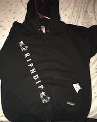 Black and white pullover hoodie McAllen, 78503