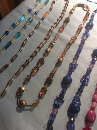assorted color beaded necklace lot Perris, 92570