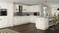 white wooden kitchen cabinet set Centreville, 20120