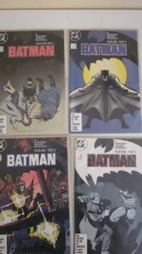 Batman year one . TORONTO