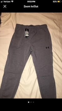 Under Armour Joggers Size Large Hoover, 35226