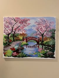 Canvas painting - Japanese Garden