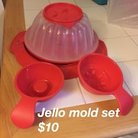 Tupperware Jello mold Alexandria, 22308