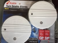 New kidde twin smoke alarms