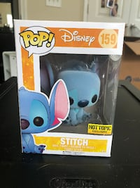 Hot Topic Exclusive Flocked Stitch Funko Pop Dumfries