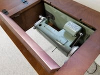 Vintage Sewing Machine w/ matching chair Langley City, V3A 8P8