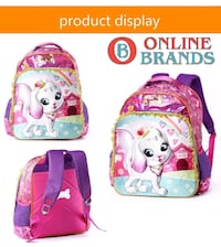 Kids school bags 23 % off Mississauga, L5M 6W2