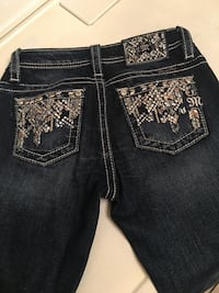 MISS ME SKINNY JEANS SIZE 12 FOR GIRLS Blue Mound, 76131