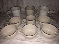 White / off white cup Bundle 9 Piece New York, 11385