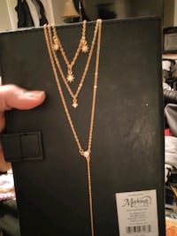 Beautiful layered necklace. Gold COLORED.  Surrey, V4N 0J2