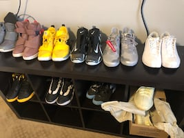 NIKE AND YEEZYS shoes