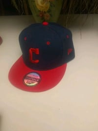 black and red fitted cap Winter Haven, 33881