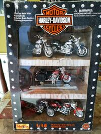 HARLEY DAVIDSON COLLECTION 1:18