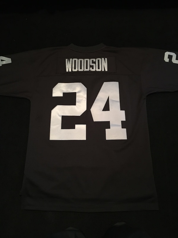 huge inventory 1782f 6e66a Authentic 1998 Charles Woodson X Mitchell & Ness Replica Collection Raiders  Jersey