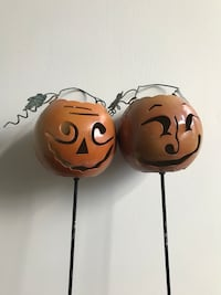 Metal Pumpkin Candle Lawn Set Lake Forest, 92610