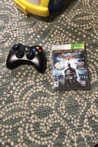 Xbox360 controller and game