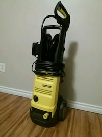 black and yellow upright vacuum cleaner Edmonton, T5Y 2J9